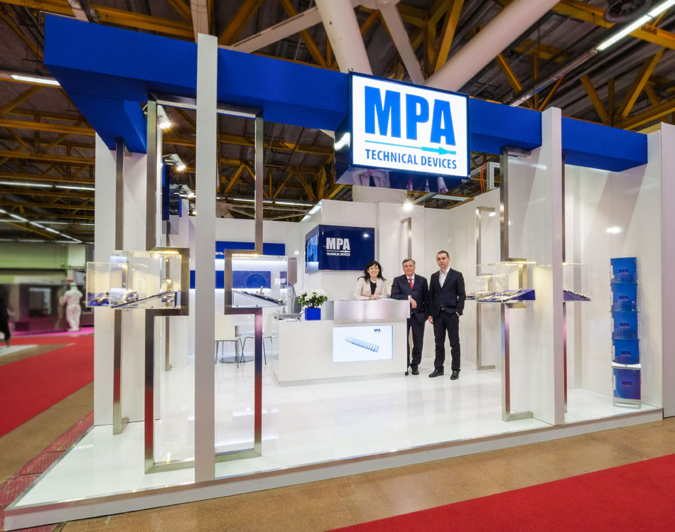 MPA Stand at Pharmintech 2016