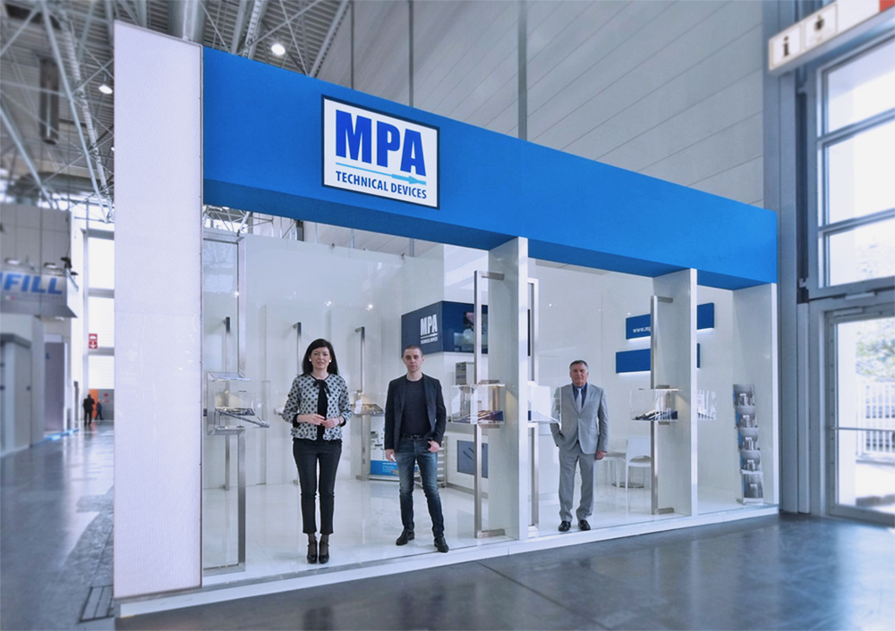 Interpack 2017 Stand MPA Technical Devices Italy