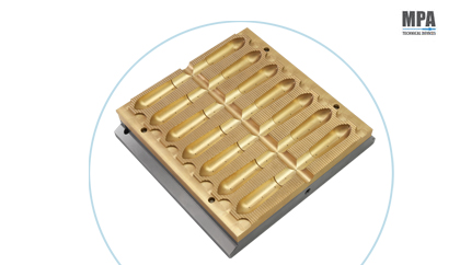 Mould for Suppository Pharmaceutical Machine by MPA