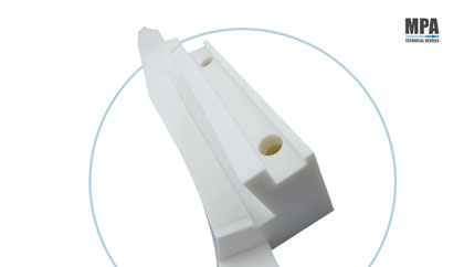 Plastic format part - pharmaceutical format parts