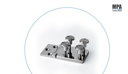 MPA stainless steel nautical hinge